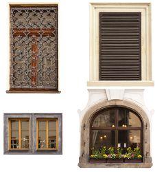 Free Ancient Windows Royalty Free Stock Photo - 19196765