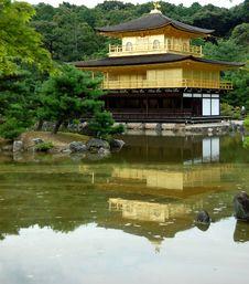 Free Kinkaku-ji Golden Temple Stock Image - 19196831
