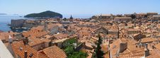 Free Panorama Of Dubrovnik, Croatia Royalty Free Stock Images - 19197779