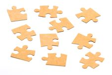 Free Cardboard Jigsaw Puzzle Stock Photos - 19198793