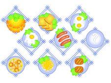 Free Food Set Stock Photos - 19199603