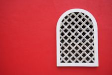 Free Red Wall Royalty Free Stock Photo - 1920515