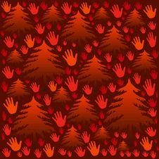 Free Orange Hands Stock Photography - 1920972