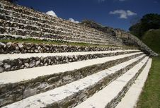 Free Stairs Of Maya Temple Royalty Free Stock Photography - 1921127