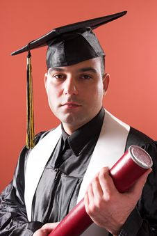 Free Graduation A Man Stock Photography - 1921702