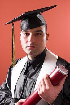 Free Graduation A Man Stock Photography - 1921702