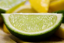 Free Freshly Cut Lime Royalty Free Stock Photo - 1922055
