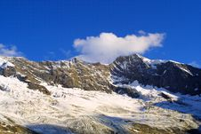 Free Summit Dreiherrenspitz- Alpine View Royalty Free Stock Image - 1923086