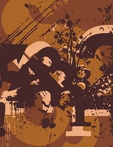 Free Typography Grunge Background Stock Image - 1923671