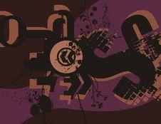 Free Typography Grunge Background Stock Image - 1923711