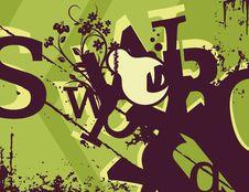 Free Typography Grunge Background Stock Image - 1923721