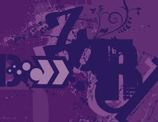 Free Typography Grunge Background Stock Photos - 1923743