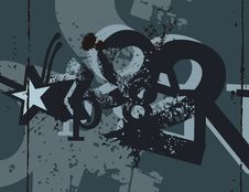 Free Typography Grunge Background Stock Images - 1923774