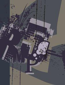 Free Typography Grunge Background Stock Image - 1923851