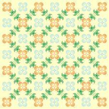 Free Decorative Wallpaper. Royalty Free Stock Photo - 1924075