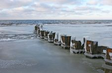 Free Beach At Winter Royalty Free Stock Photos - 1924088