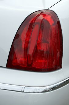 Car Light On A Limousine Royalty Free Stock Photos