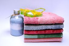 Free Stack Of Towels Stock Photo - 1924740