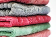 Free Stack Of Towels Royalty Free Stock Image - 1926536