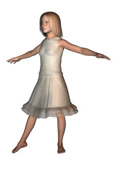 Free Girl Dancer In Skirt 3 Stock Photo - 1926790