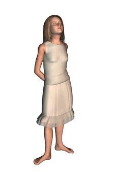 Free Girl Dancer In Skirt 5 Stock Image - 1926801