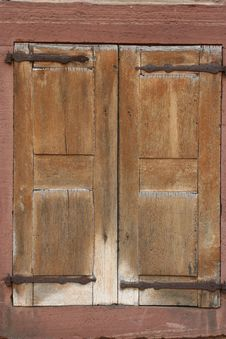 Free Wood Window Stock Photo - 1927180