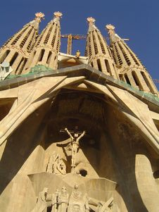 Free Sagrada Familia Stock Photography - 1928612