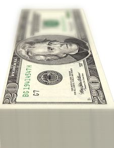 Free Stack Of Dollars Royalty Free Stock Photo - 1929105