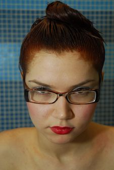 Hair Dyeing Stock Image