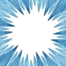 Free Blue Petals Frame Stock Photos - 1929313