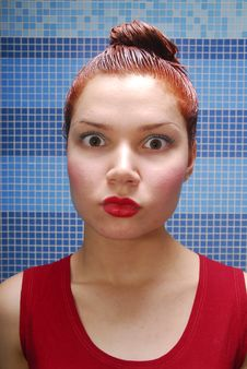 Hair Dyeing Stock Photography