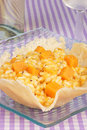 Free Risotto With Pumpkin In A Cheese Basket Royalty Free Stock Photo - 19201535
