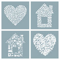 Free House And Heart Stock Photo - 19203200