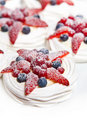 Free Strawberry Fruit Cake Dessert Stock Photography - 19206412