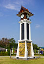 Free Thai Style Clock Tower Royalty Free Stock Photography - 19209487