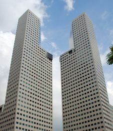 Free Contemporary Skyscrapers Royalty Free Stock Photography - 19200137