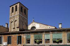 Free Venice, Church In Veneto, Italy Royalty Free Stock Photo - 19200255