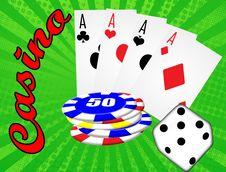Free Casino Background Stock Image - 19200371
