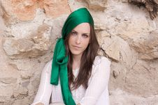 Free Portrait Of A Spanish Brunette Royalty Free Stock Photos - 19200378