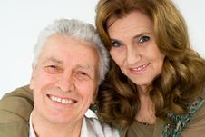 Nice Elderly Couple Royalty Free Stock Photos