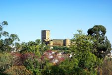 Free Landscape Of Portel Castle. Royalty Free Stock Images - 19201229