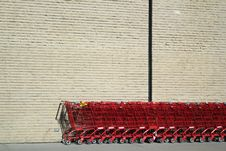 Free Shopping Carts Royalty Free Stock Images - 19202569