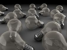 Light Bulbs Royalty Free Stock Photo