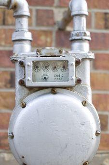 Free Water Meter Detail Stock Photo - 19203000