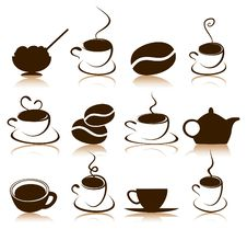Free Coffee Icon Stock Photography - 19203152