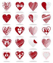 Love Icon2 Stock Photo