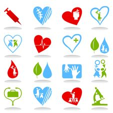 Free Medical Icons7 Royalty Free Stock Photo - 19203225