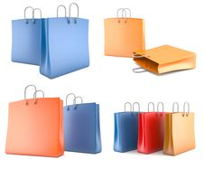 Free Set Of Shopping Bags Stock Image - 19203661