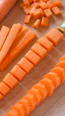 Free Carrot - Variation Of Cutting Stock Image - 19204271
