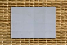 Free Plan Paper On Wood Texture Royalty Free Stock Images - 19204349